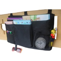 Misslo Hanging Bedside Storage Caddy for Ipad, Books, Toys, TV Remote