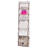 Misslo Over Door Organizer For Handbags, Caps, Accessories (Beige)