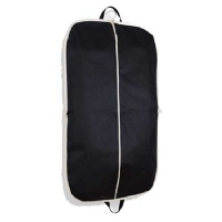 Black Zippered Garment Suit Bag 42